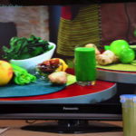 grüner smoothie im TV