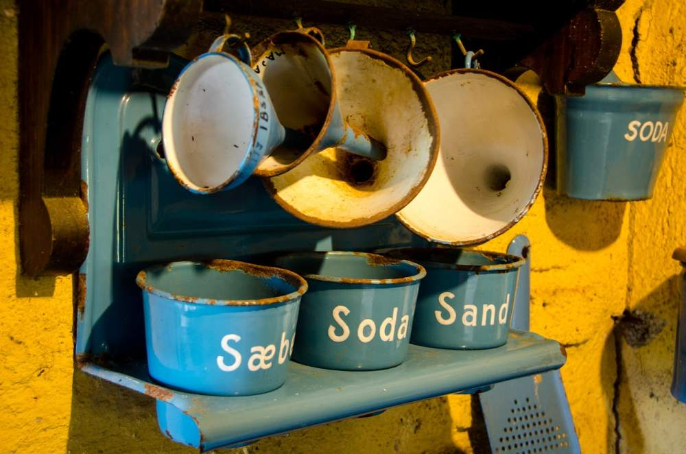 Seife Soda Sand