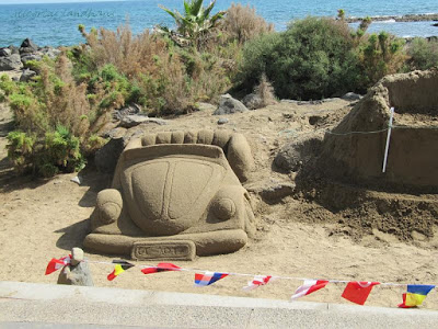 Sandkunst in Maspalomas