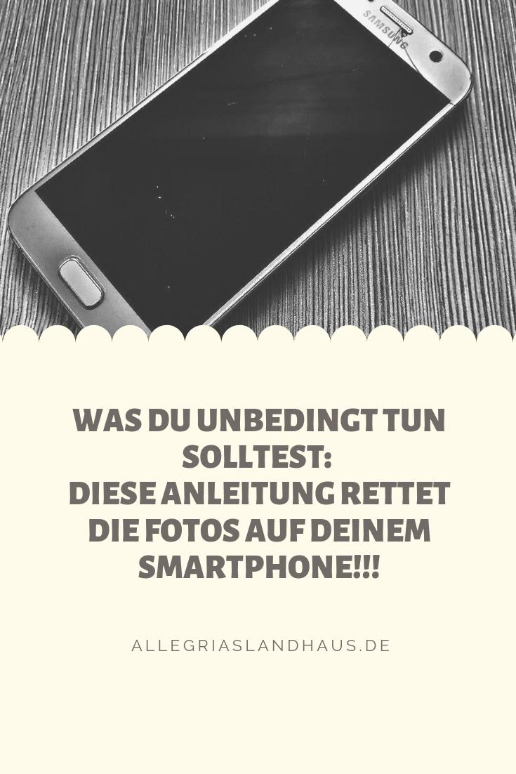Fotorettung für das smartphone