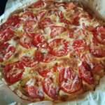 Tomatentarte auf Mürbeteig