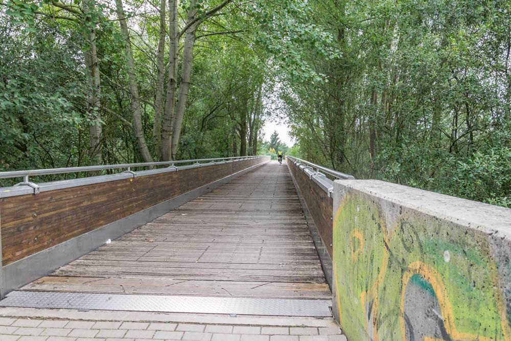 Brücke über die Ochtum