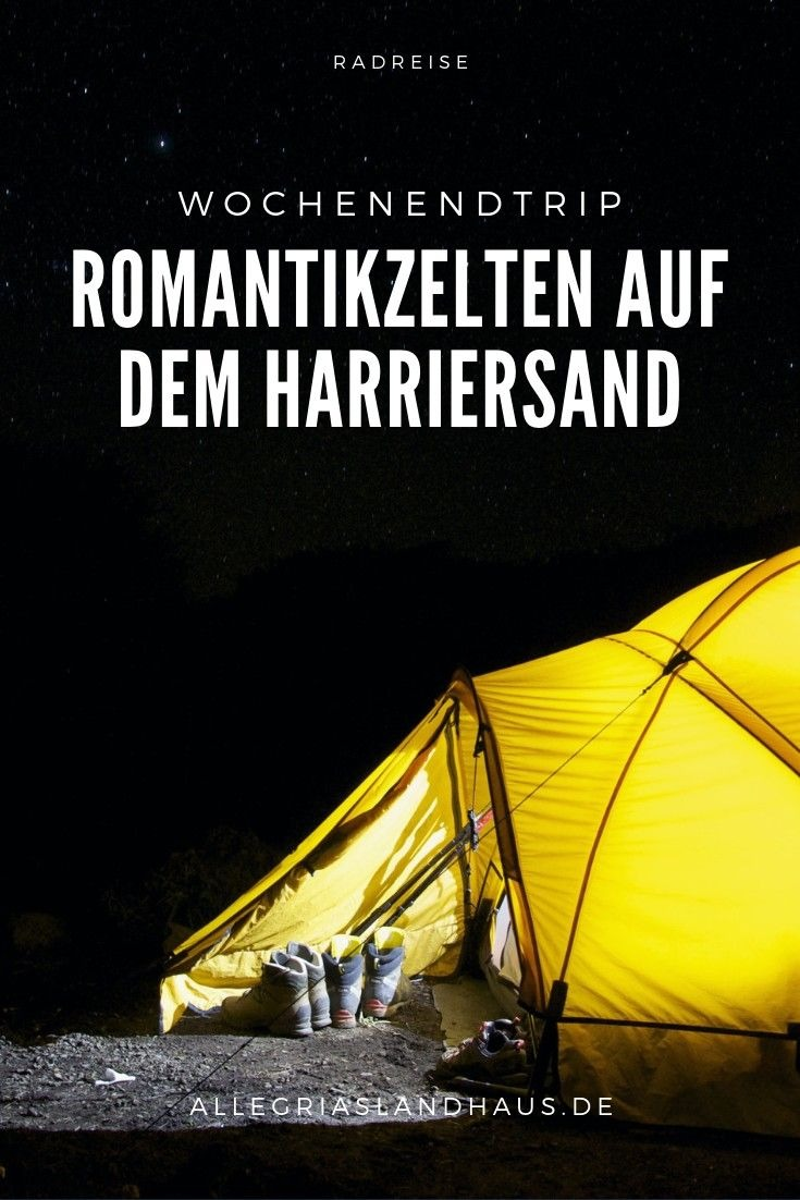 Romantikzelten Harriersand
