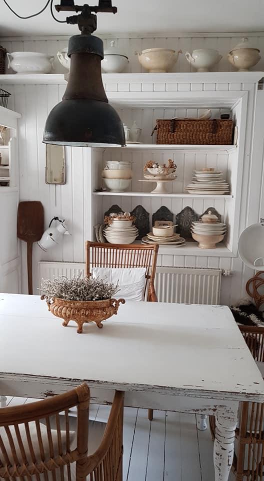 Blick über den Küchentisch