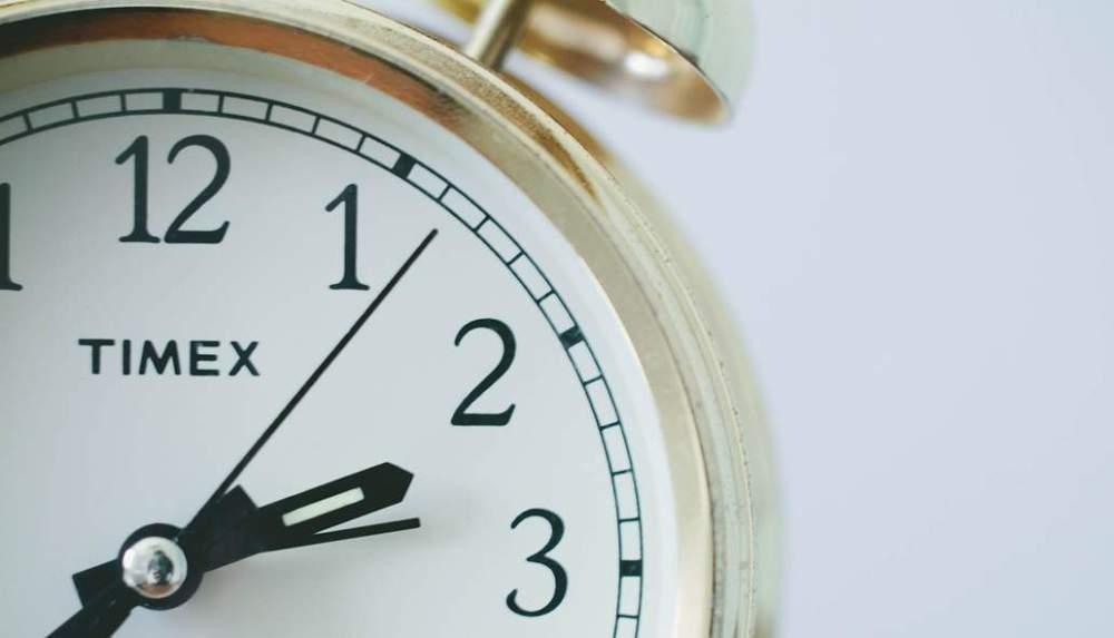 Uhr mit Sekundenzeiger