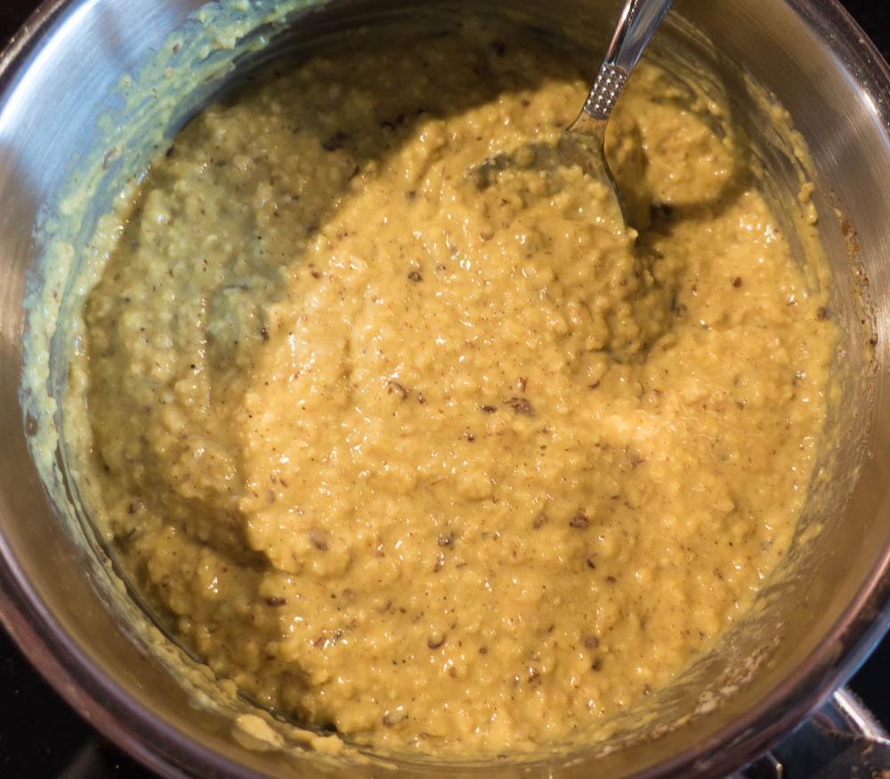 Gewürz Porridge